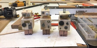 Saturday kids club, 5th October - Make your own robot, age 8+
