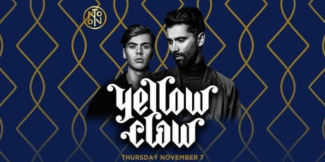 Yellow Claw @ Noto Philly Nov 7 tickets