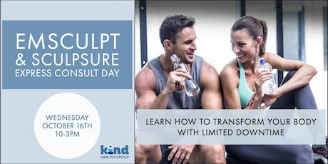 EMSCULPT & SCULPSURE EXPRESS CONSULT DAY tickets