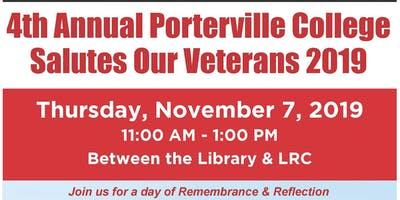 *Booth Registration* 4th Annual Porterville College Salutes Our Veterans