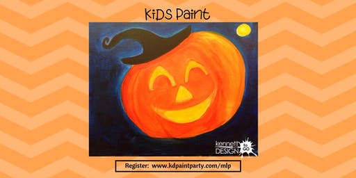 Happy Jack-O-Lantern - KiDs Paint at the Market at Liberty Place - 10/12