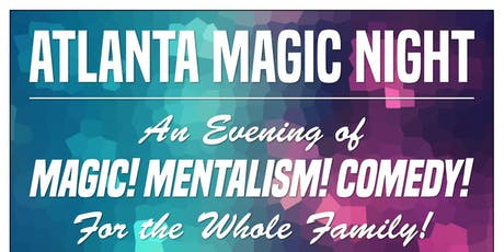 Atlanta Magic Night! w/ Tommy John + Dorian LaChance tickets