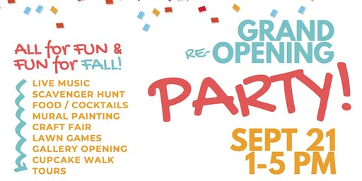 Family Village: Grand Re-Opening Party