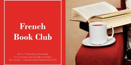 French Book Club ¦ Alliance française d'Oxford _2019-2020 tickets