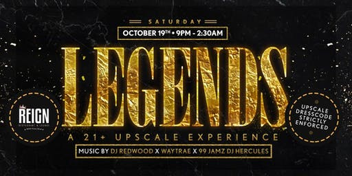 LEGENDS: A 21+ UPSCALE COCKTAIL EXPERIENCE