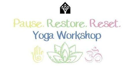 Yoga Reset Workshop: Stress, Anxiety, Depression tickets