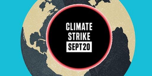 Climate Strike Western Gateway Building UCC