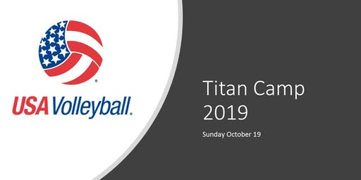 Titan Volleyball Camp 2019