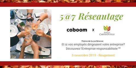 5@7 Montérégie : Et si vos employés dirigeaient votre entreprise ? billets