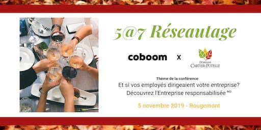 5@7 Montérégie : Et si vos employés dirigeaient votre entreprise ?