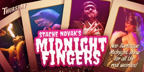 Stache Novak's Midnight Fingers tickets