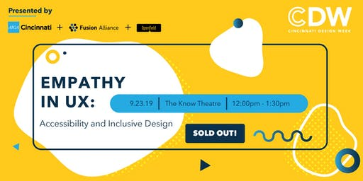 Empathy in UX: Accessibility and Inclusive Design (SOLD OUT)