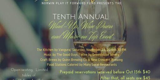 Norwin Play It Forward's Tenth Annual Wind-Up, Wine Down and Music on Tap