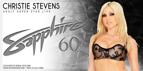 Christie Stevens! Friday 9.20.19  Sapphire NY tickets