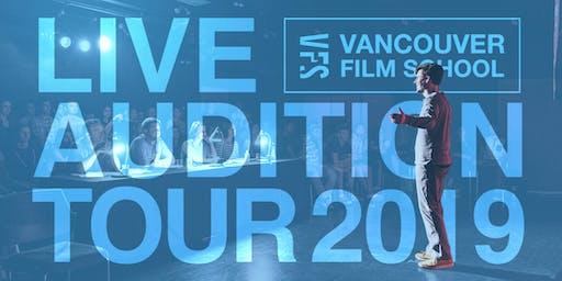 Vancouver Film School 'Live Audition' | İstanbul, Türkiye Turu