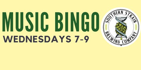 MUSIC BINGO at SOUTHERN STRAIN BREWING CO. - Concord tickets