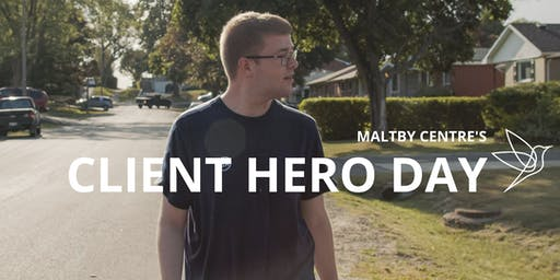 Maltby Centre's Client Hero Day