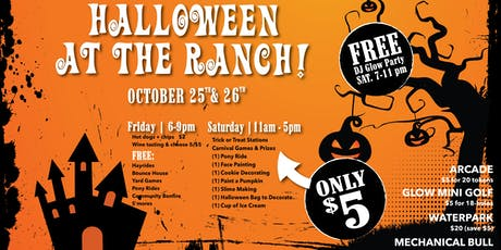 Halloween at the Ranch tickets