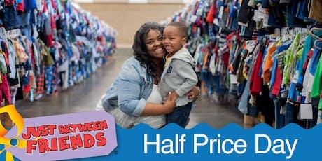 JBF Prince William Winter Sale - Half Price Day tickets