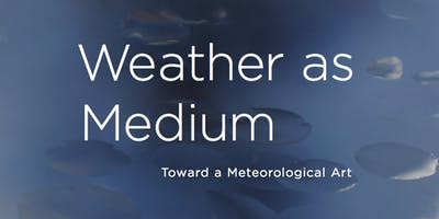 """Weather as Medium"" Book Talk by Janine Randerson"