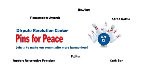 Pins for Peace tickets