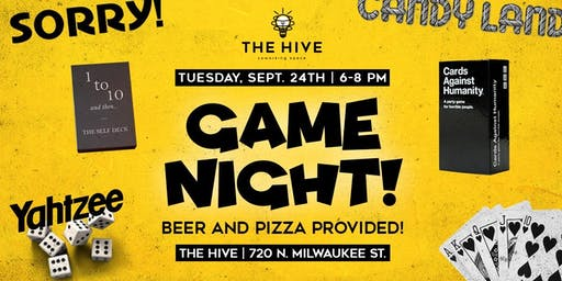 Game Night [at] The Hive!