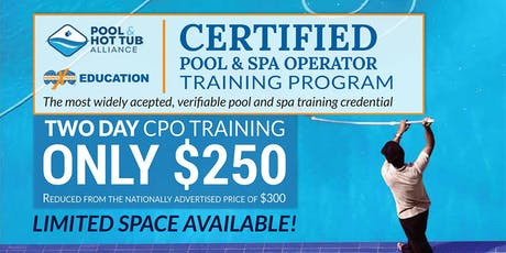 HornerXpress® PHTA Certified Pool/Spa Operator Training (West Palm Beach) tickets