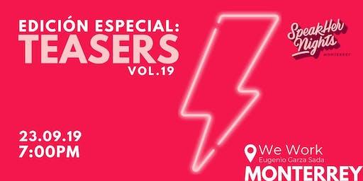 SpeakHer Nights Vol. 19
