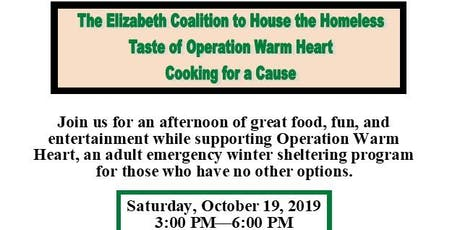 5th Annual Taste of Operation Warm Heart tickets