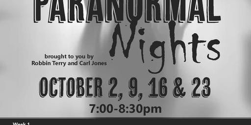 AAC's Paranormal Nights