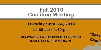 Partnership For A Healthy Hamilton County Fall Coalition Meeting