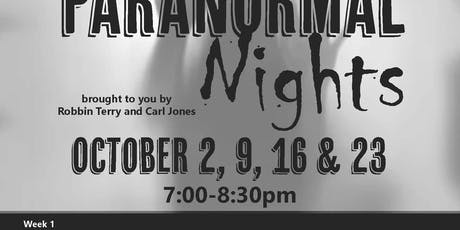 AAC's Paranormal Nights tickets