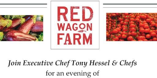 Italian Red Wagon Farm dinner