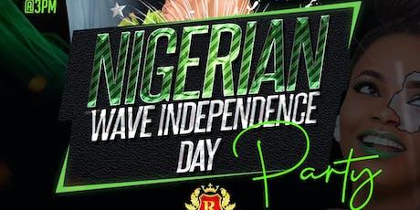 ATLANTA NIGERIAN INDEPENDENCE DAY PARTY.  NIGERIAN WAVE tickets