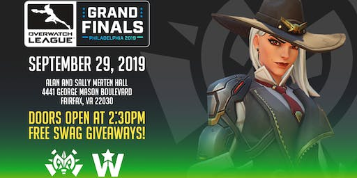 Overwatch League Grand Finals Watch Party at GMU