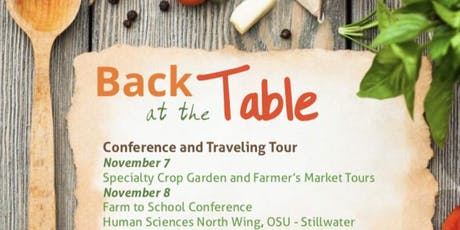 Back at the Table Farm to School Conference tickets
