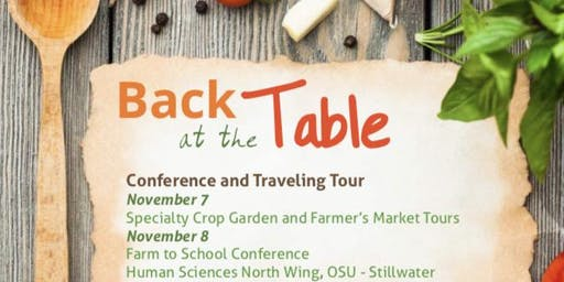 Back at the Table Farm to School Conference