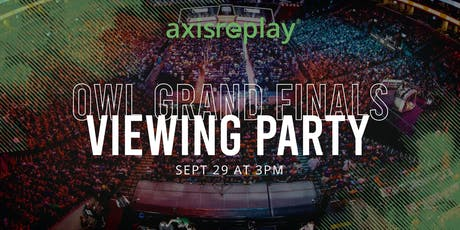 OWL Grand Finals Viewing Party tickets