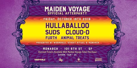 Wormhole, Street Ritual, & Monarch pres.: Maiden Voyage Official Afterparty tickets