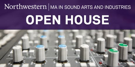 Sound Arts and Industries Fall Open House tickets