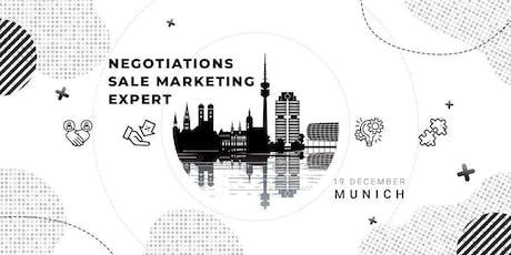 Negotiations Sale Marketing Expert tickets