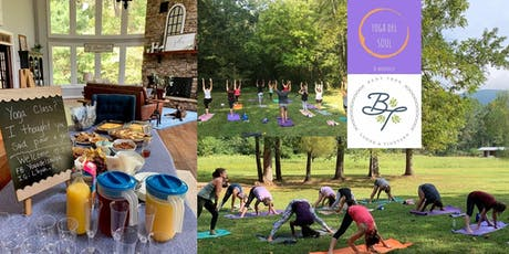 Yoga and Mimosas in the Meadow w/ Brunch at Bent Tree Lodge & Vineyard  tickets