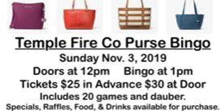Designer Purse Bingo!  tickets