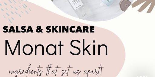 Salsa & Skincare Social