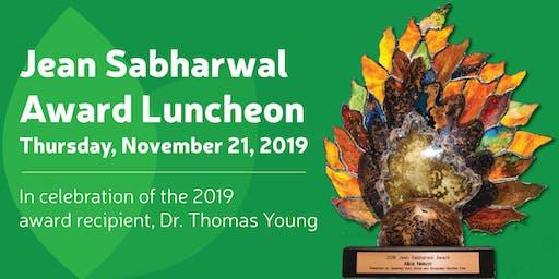 2019 Jean Sabharwal Award Luncheon- Bluegrass Families First
