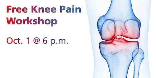 Free Knee Pain Workshop, Altoona