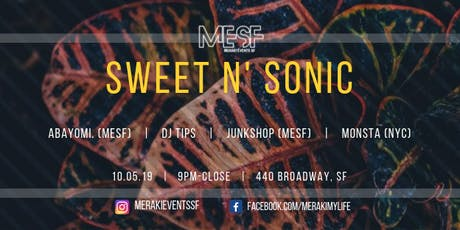 Sweet N' Sonic tickets