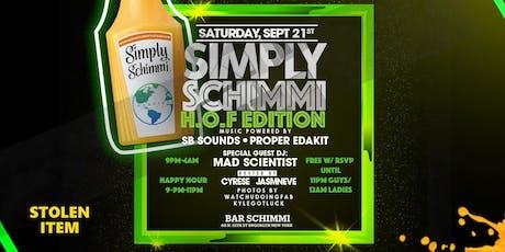 Simply Schimmi tickets