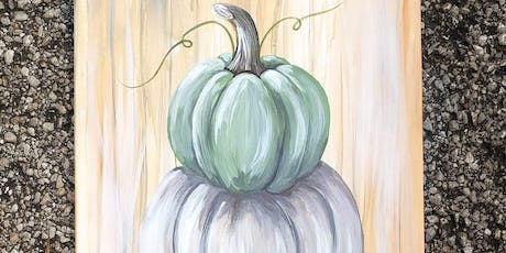 Stacked Fall Painted Pumpkins tickets