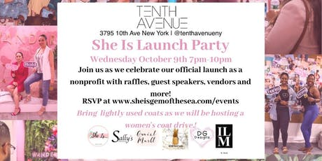 She Is Inc Launch Party tickets
